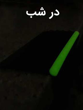 نبشی پله PVC
