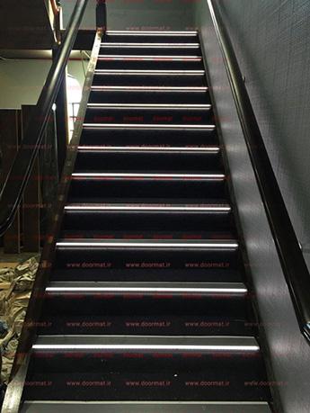 نبشی پله آلومینیومی LED دار کد L1
