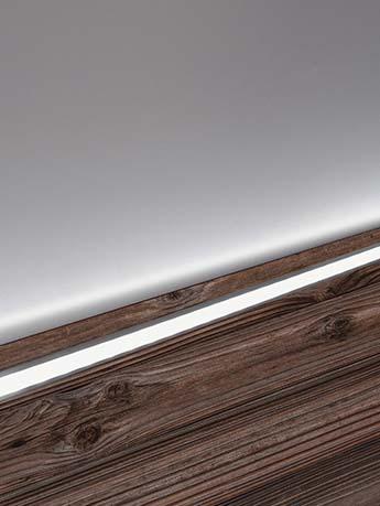 پروفیل LED با ضخامت 2 سانتی متر_کد 905
